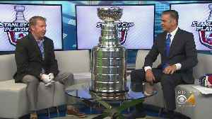 Stanley Cup Trophy Pays A Visit To CBS4's Studios [Video]