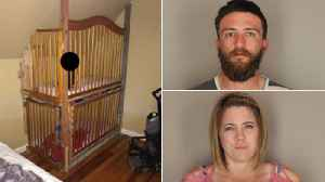 Twin Boys Found in 'Cages' Bolted to the Wall Inside California Home [Video]