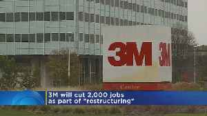 3M To Cut 2,000 Jobs Globally [Video]