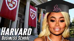 Blac Chyna Headed To HARVARD Business School In A Desperate Attempt To Reform Herself! [Video]