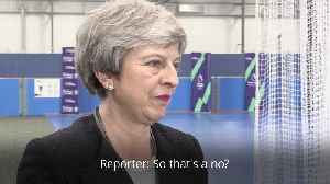 Theresa May twice dodges question about her departure date [Video]