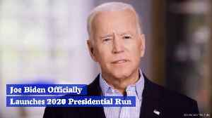 News video: Joe Biden Is Finally In
