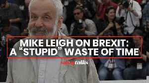 Mike Leigh on Brexit: a 'stupid' waste of time [Video]