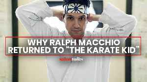 With the return of 'Cobra Kai,' Ralph Macchio reflects on how 'The Karate Kid' became a timeless underdog story [Video]