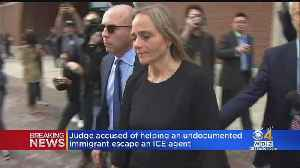 News video: Judge Accused Of Helping Undocumented Immigrant Escape ICE Agent