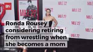 Ronda Rousey Is Heading Towards Wrestling Retirement [Video]