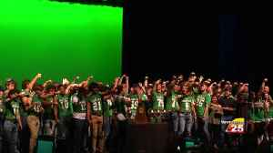 Gobblers receive State Championship rings [Video]