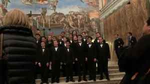 VIDEO Emmaus Chorale performs in the Vatican [Video]