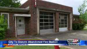 Abandoned Decatur Fire Station Donated [Video]