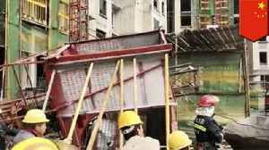 11 workers die after elevator cable snaps in China [Video]