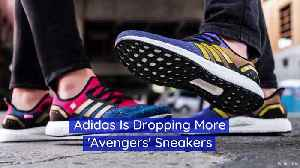 Adidas Is Dropping More 'Avengers' Sneakers [Video]
