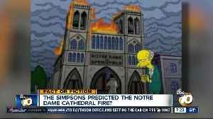 The Simpsons predicted the Notre Dame fire? [Video]