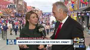 Cardinals fans get ready for the NFL draft [Video]
