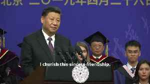 President Putin 'is my closest friend': Chinese President Xi Jinping [Video]