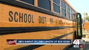 New Lee's Summit school plan leads to shorter bus rides [Video]