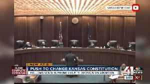 Kansas Supreme Court rules woman's right to choose [Video]