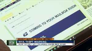 Mail theft warning [Video]