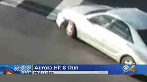 Aurora Police Search For Suspect Vehicle In Hit & Run [Video]