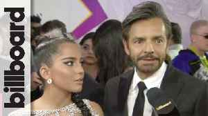 Eugenio Derbez Talks Juan Luis Guerra & His Next Film | Billboard Latin Music Awards 2019 [Video]