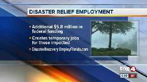Disaster relief employment approved by DeSantis [Video]