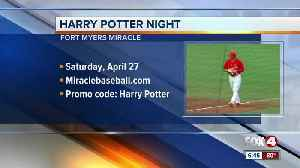Miracles host Harry Potter night in Fort Myers [Video]
