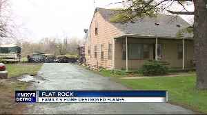 Flat Rock couple trying to rebuild after losing home of 70+ years to fire [Video]