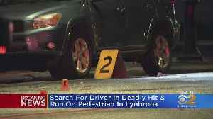Pedestrian Killed In Lynbrook Hit-And-Run [Video]