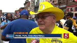 Music City gives fans a good time at the NFL Draft [Video]