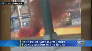 Metro North Fire In The Bronx [Video]