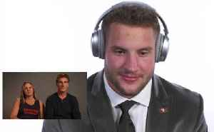 Ohio State defensive end Nick Bosa reacts to parents' draft message [Video]