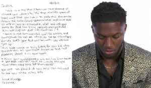 Seattle Seahawks edge rusher Josh Allen reads emotional letter from his mom on draft night [Video]