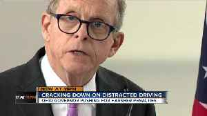DeWine wants harsher punishments for texting while driving [Video]
