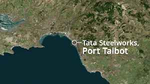 Two injured after explosion and fires at Port Talbot steelworks [Video]