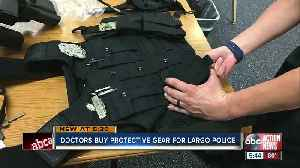 Doctors chip in to help Largo Police officers afford active shooter kits [Video]