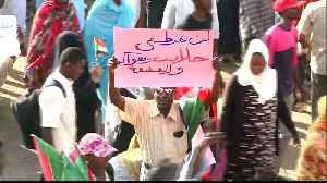 Huge crowds continue to flood Khartoum pushing for civilian rule [Video]