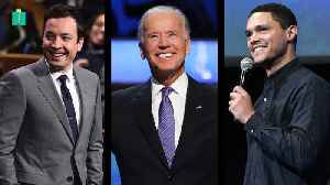 Late-Night Comics Tackle Biden's Candidacy [Video]