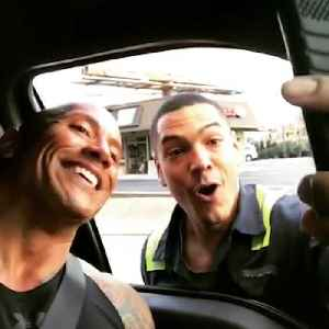 News video: Dwayne 'The Rock' Johnson shares incredible relationship with his fans