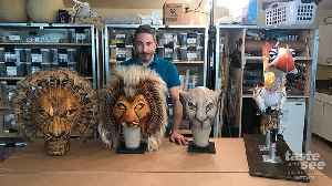 Inside Disney's The Lion King Puppet Shop [Video]