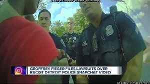Geoffrey Fieger files lawsuits over racist Detroit Police snapchat video [Video]