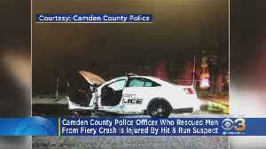 Camden County Police Officer In Critical Condition After Hit-And-Run [Video]