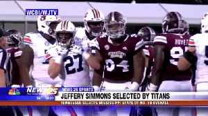 Mississippi State DT Jeffrey Simmons selected by Tennessee Titans [Video]