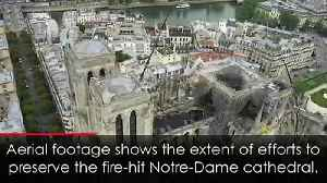 Authorities rush to protect Notre-Dame from storms [Video]