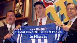 First Round Draft Picks Have Historically Been Great Players [Video]