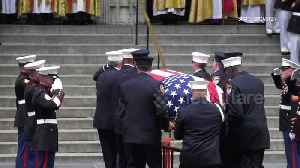 Thousands gather for funeral of Christopher Slutman, Marine and firefighter killed in Afghanistan [Video]