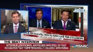 Eric Swalwell doubles down on collusion delusion [Video]
