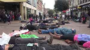 Protesters perform 'die-in' on West London high street [Video]