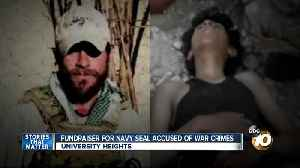 Dozens attend fundraiser for Navy SEAL accused of war crimes [Video]
