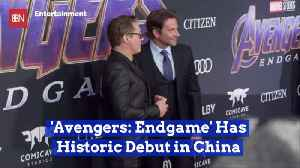 'Avengers: Endgame' Is Big In China [Video]
