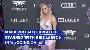 Brie Larson And Mark Ruffalo Worked Together Before Avengers [Video]