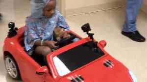 Children drive Hot Wheels cars into surgery at West Boca Medical Center [Video]